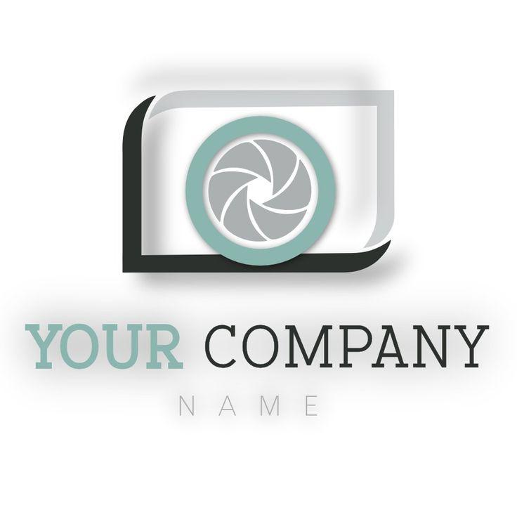 Shutter logo design #forsale #available www.e1web.co.nz