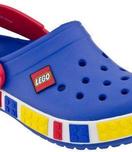 Crocs™ Crocband Kids Lego Sea Blue Red