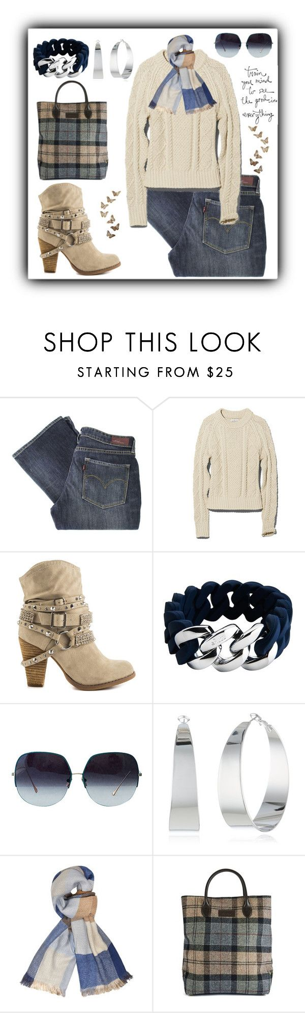 """Untitled #670"" by gallant81 ❤ liked on Polyvore featuring Levi's, Not Rated, The Rubz, Vince Camuto, Dorothy Perkins and Barbour"