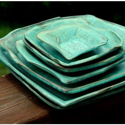PLATES & 121 best SQUARE PLATE SET images on Pinterest | Square plate set ...