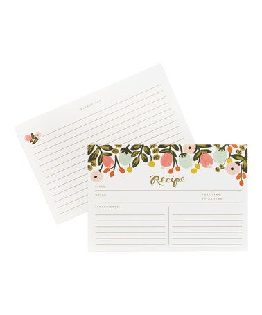 Love this Hanging Garden Recipe Card - Set of 12 on #zulily! #zulilyfinds