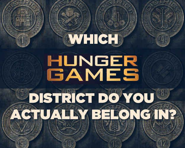 "I got District 12! Appropriate since I live in the Appalachian Mountains :-)  Which ""Hunger Games"" District Do You Actually Belong In"