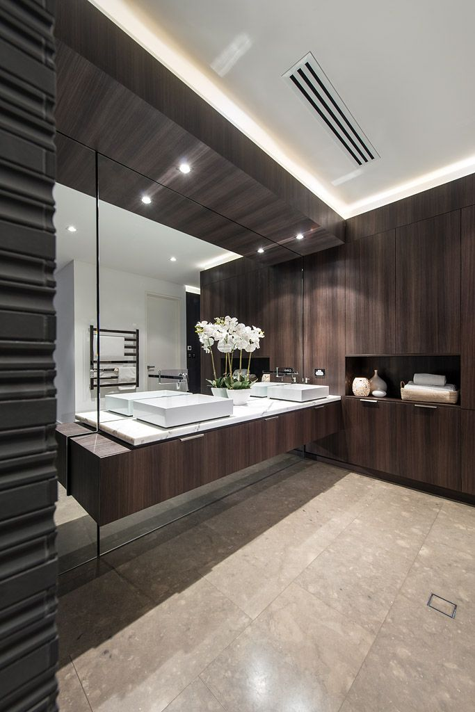 Luxurious master en suite designed and built by Urbane Projects.