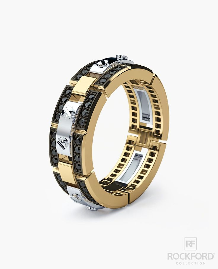 32++ Two tone wedding bands for him information
