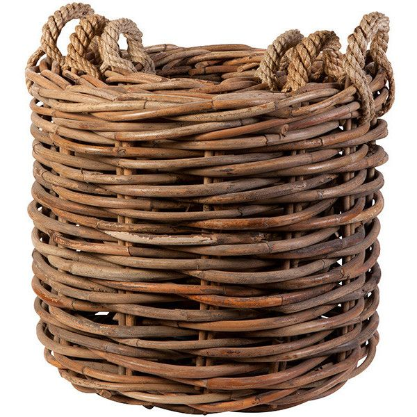 Flamant Loxwood Log baskets, Set of 3 (480 CAD) ❤ liked on Polyvore featuring home, home decor, fireplace accessories, grey basket, grey storage baskets, weave storage baskets, gray home decor and gray storage baskets
