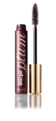 benefit bad gal lash in plum. intensifies any eye color. i wear this on my bottom lashes only, gives me a more natural look than black mascara.