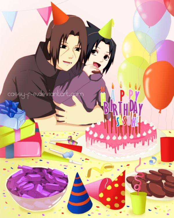 Happy Birthday Sasuke by Cassy-F-E.deviantart.com on @DeviantArt