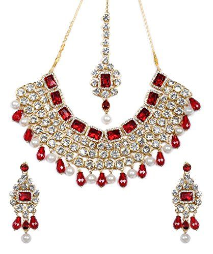 Traditional Indian Bollywood Red Stone Kundan Wedding Par... https://www.amazon.com/dp/B06XZ3SXG9/ref=cm_sw_r_pi_dp_x_jcIvzbSFG6M0H
