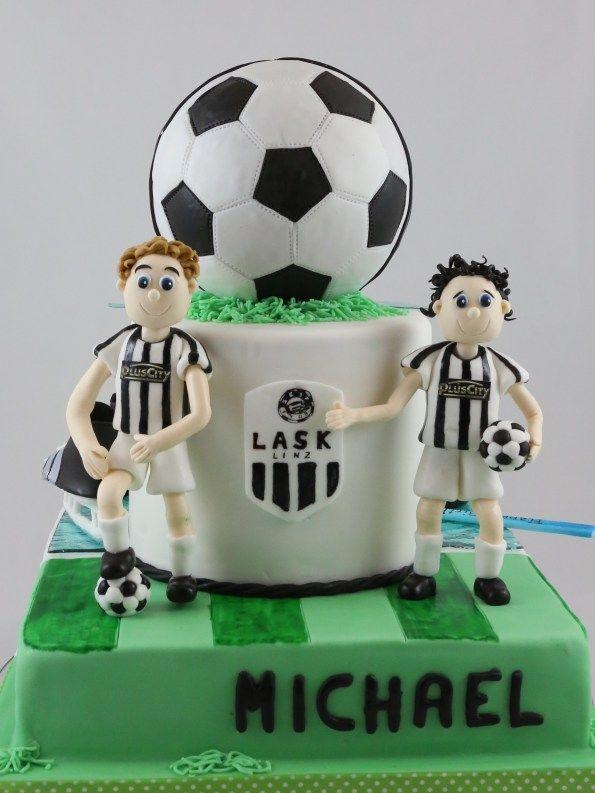 Fussball Torte Lask Cake Soccer