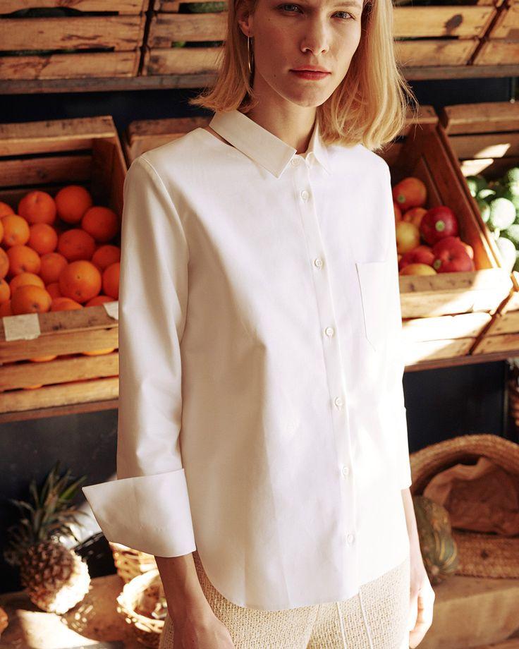 BONA - Shirt - White