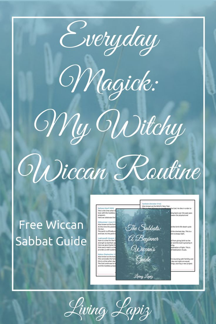 Are you struggling with incorporating you magick into your daily life? I did too! But now I have a routine where I constantly find the magick in the mundane and allows me to live my best life through wicca! Check out this post to see how you can too (: wicca for beginners | witchcraft for beginners|