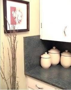 How to Cover Counters With Contact Paper thumbnail   To do in bathroom and kitchen! Because I already know I am going to hate the countertops wherever we move!