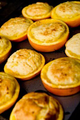 Orange Cupcakes: Cupcakes Grilled in an Orange | Cupcake Project