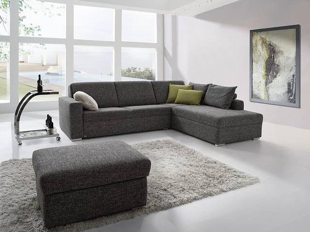 79 Skurril Couch Grau Stoff