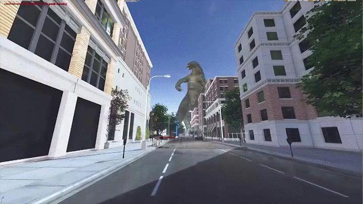 Godzilla VR - Yes.
