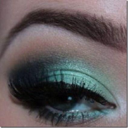 green eyes makeup 15