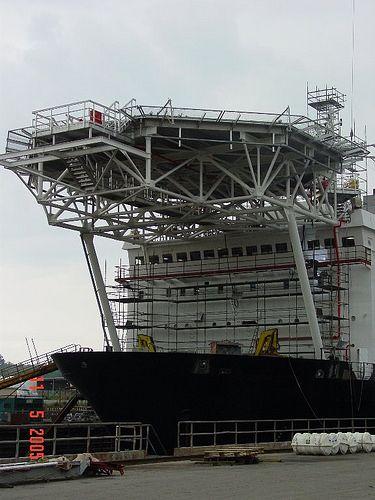 Helideck construction by Degima