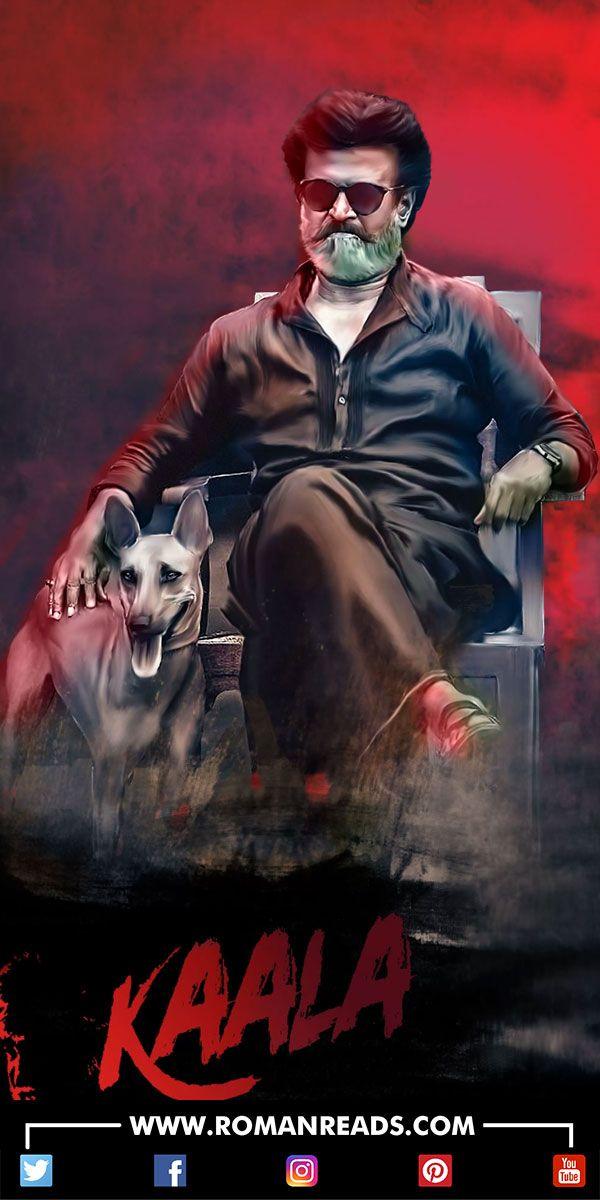 Bollywood Tamil actor Rajinikanth ki tamil aur hindi language mein bane wali film Kaala ka poster release #Rajinikanth #Kaala #Bollywood #Entertainment #RomanReadsArticles #RomanReads