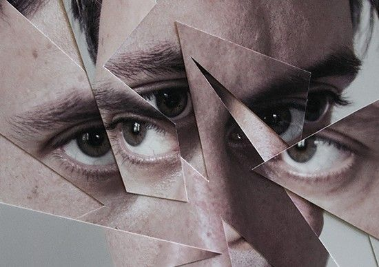 Distorted Origami Faces by Aldo Tolino | Inspiration Grid | Design Inspiration