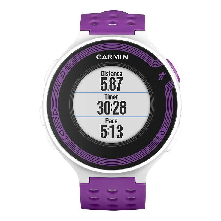 Garmin 220 GPS in Red and Black, (Not Violet and White in the Image) I think there's a discount with our VIP Card