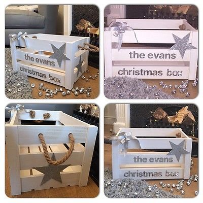 Personalised Christmas Eve Box/ Crate | eBay