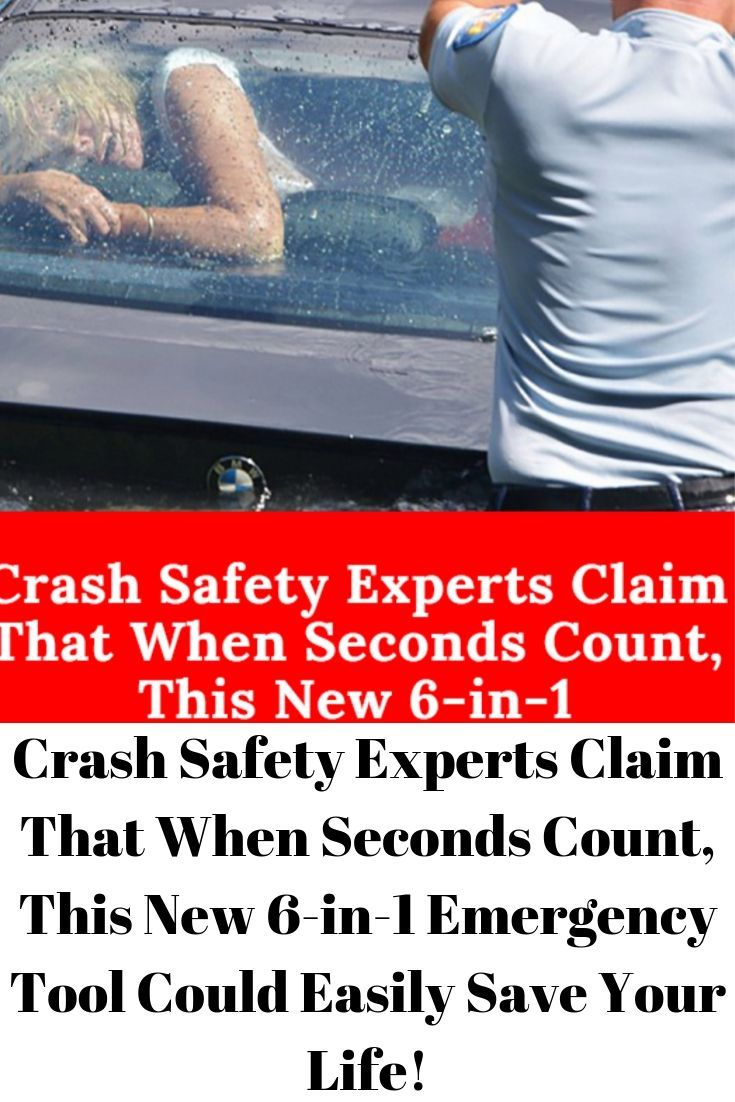Crash Safety Experts Claim That When Seconds Count, This New 6-in-1 Emergency Tool Could Easily Save Your Life!