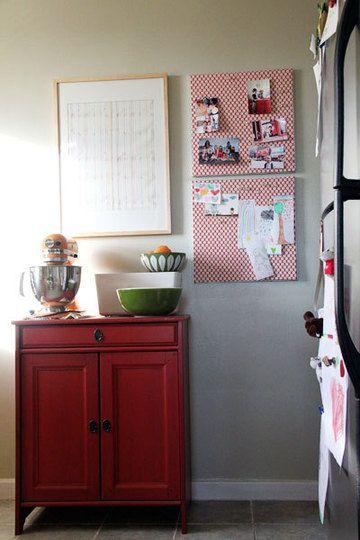 Another kitchen bulletin board idea