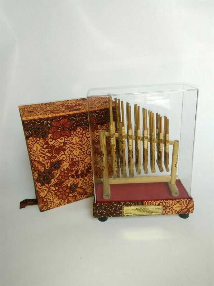 Angklung. Traditional musical  instruments