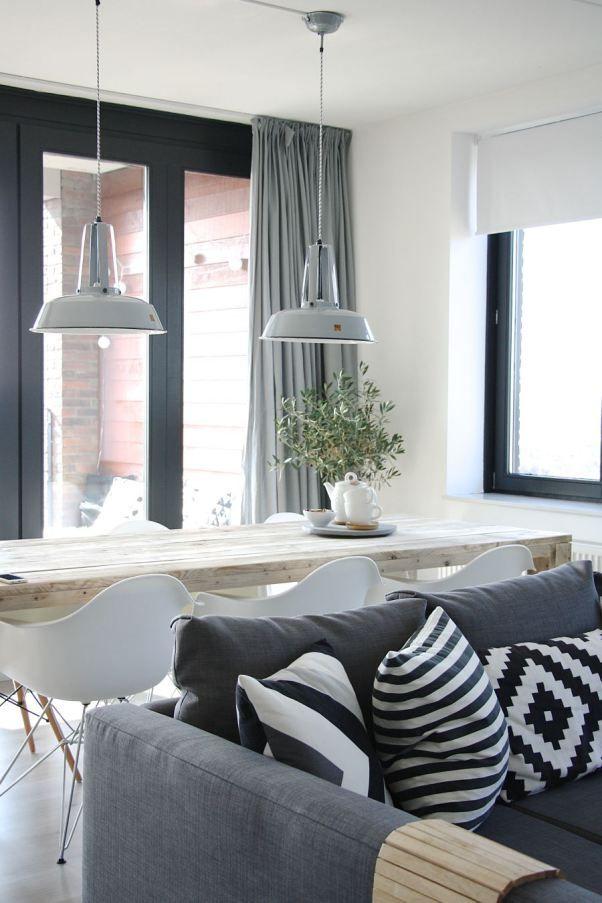 1000  images about deco: cortinas en salones nordicos en pinterest ...