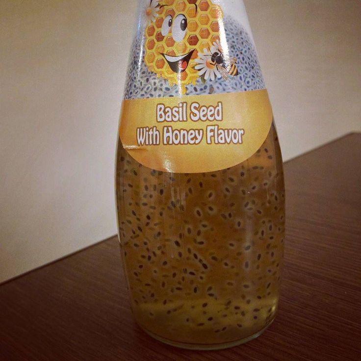 #refresco #indio de #miel con #semillasdealbahaca ... #textura #bueno #indianfood #albahaca #semillas #honey #basilseed #basilseeds