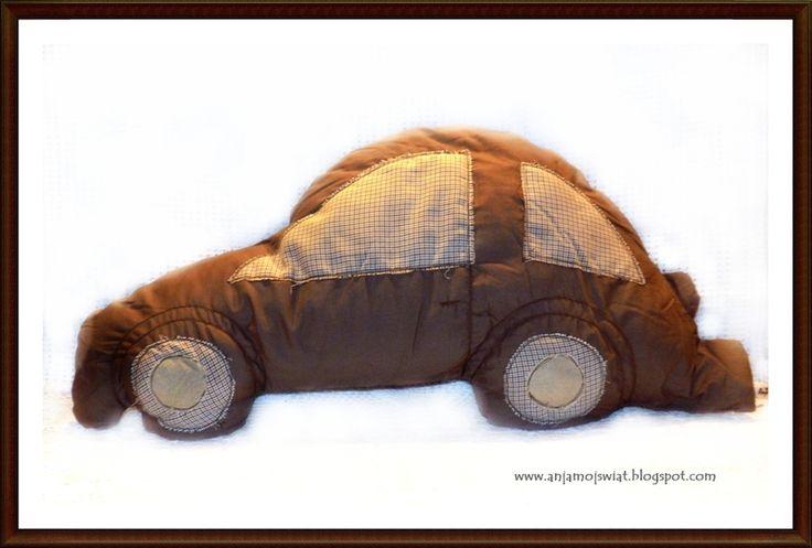 Poduszka  samochód Garbus w Anja Mój Świat na DaWanda.com