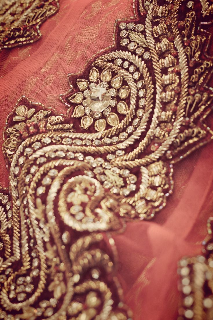 Indian Embroidered Sarees: Embroidery, Beads And Gold