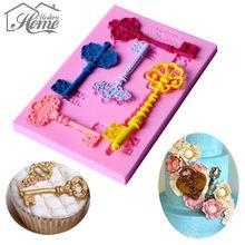 Европейская ключ силиконовые формы помадка для украшения торта Инструменты торт границы gumpaste Шоколад формы кекс cookie формы для выпечки(China (Mainland))