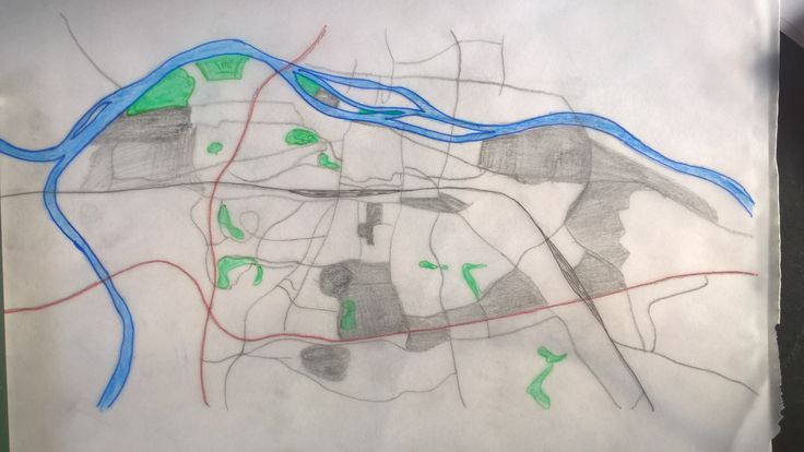 Better late than never... I'm Simon Fischer and this is my selfdrawn map of Regensburg, my hometown.