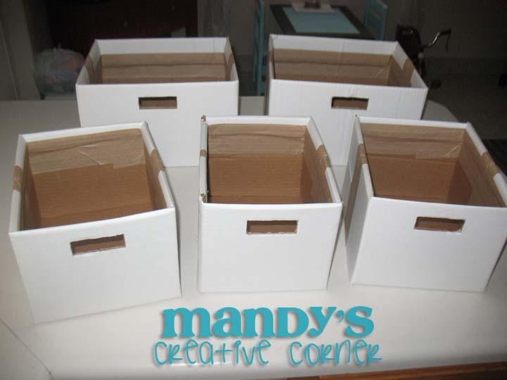 Diy Cardboard Storage Boxes Store Organize Display