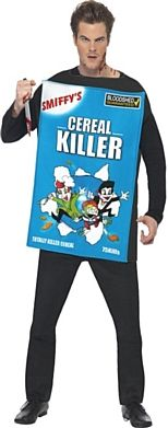 Cereal Killer Halloween Costume http://www.partypacks.co.uk/cereal-killer-costume-pid89299.html
