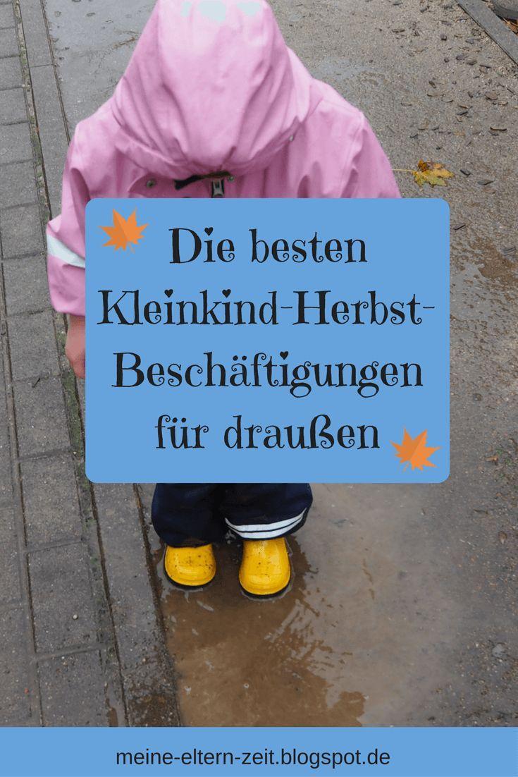 Unsere liebsten Kleinkind Beschäftigungen im Herbst für Garten Balkon & Terrasse