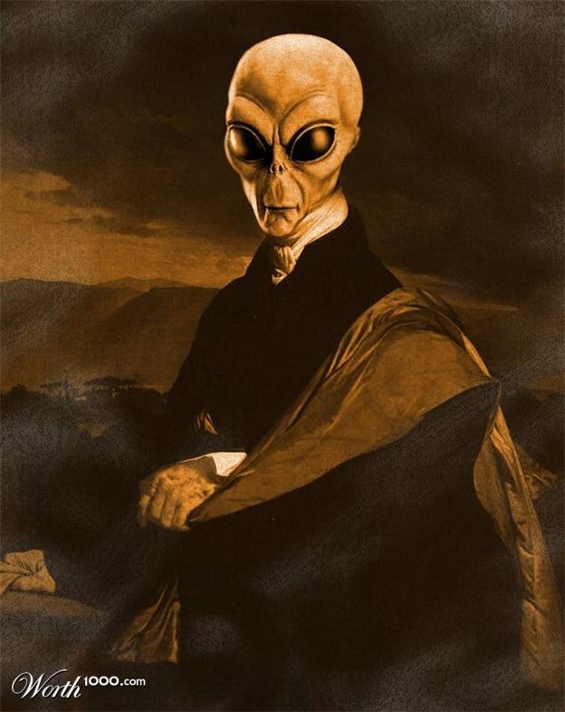Vintage Aliens 28