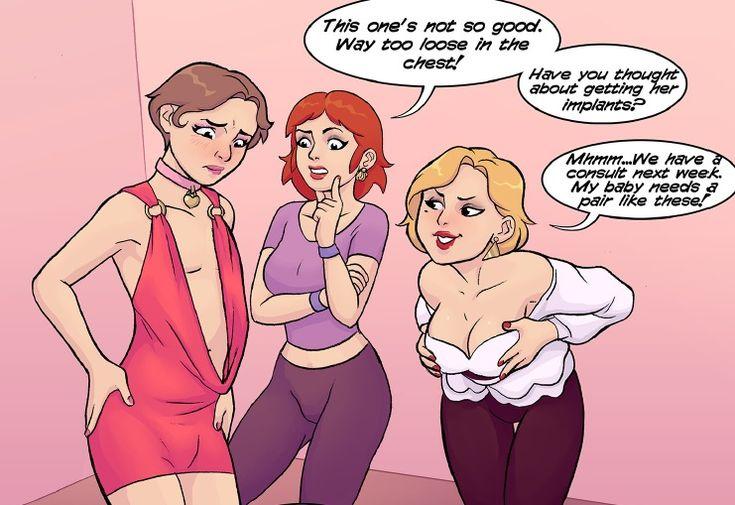 Sissy sammy - Crossdresser Feminized Comics - feminization.us blog page