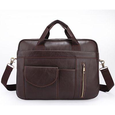 Barato Homem de negócios lazer saco de mão de couro bolsa de ombro masculino bolsa de ombro inclinado, Compro Qualidade Bolsas diretamente de fornecedores da China: