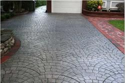 decorative concrete driveways brisbane
