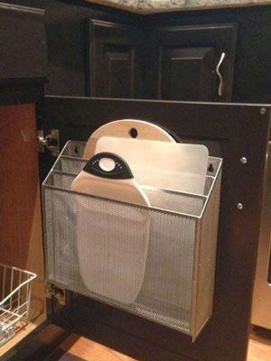 Her får du 16 supersmarte ideer til bedre oppbevaring på kjøkkenet. Enkle løsninger som gjør kjøkkenet mer funksjonelt og det blir enklere å rydde.