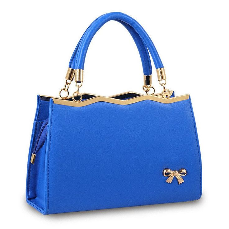 Casual Tote PU Leather Handbag in 9 Different Colours