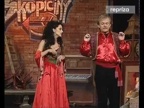 ▶ Karel Šíp & Lucie Bílá 1999 Cikánský baron - YouTube