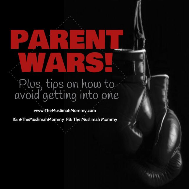 Parenting Tips: How to avoid a parent war