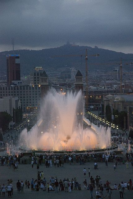 STARTING POINT .... PRE-PLANNED BARCELONA CITY GUIDE