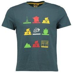 Le Tour de France Graphic T-Shirt - Grey