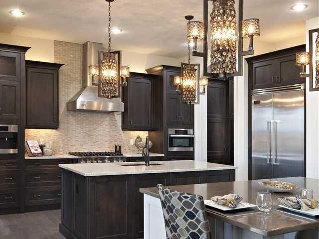 dream kitchens island kitchen dark cabinets beige kitchen kitchen i m. Black Bedroom Furniture Sets. Home Design Ideas