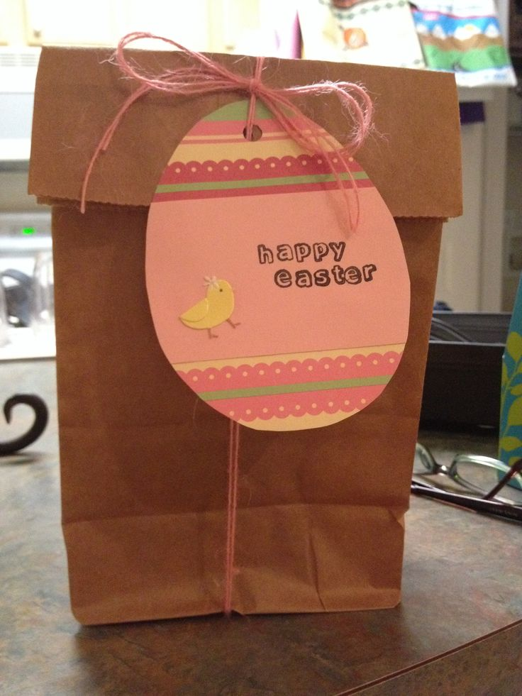 Simple Easter Card and Package