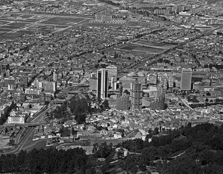 Panorámica de Bogotá / Saúl Orduz / 1970 / Colección Museo de Bogotá: MdB 03190 / Todos los derechos reservados